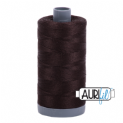 Aurifil 28 Cotton Thread - 1130 (Dark Brown)
